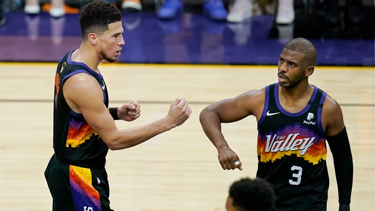 Suns take 2-0 series lead in NBA Finals with 118-108 win over Bucks