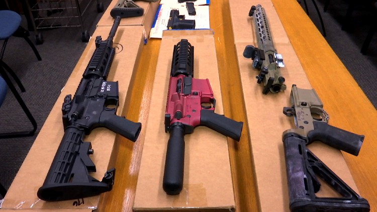 'Ghost guns' are not currently regulated in most US states