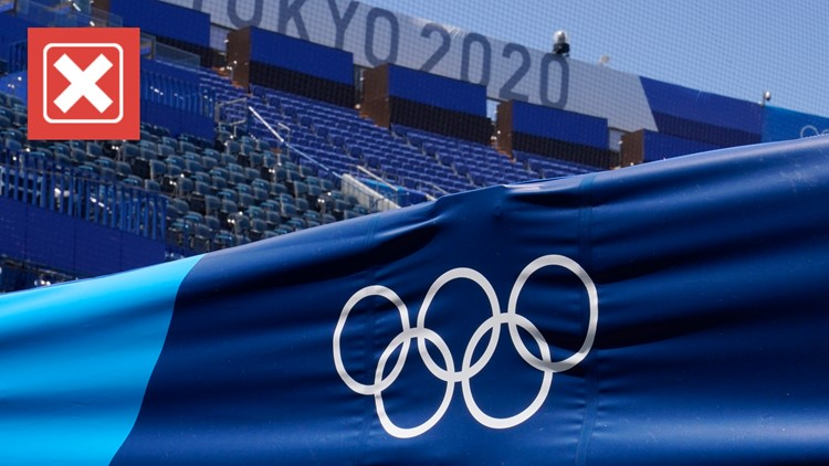 No, athletes who test positive for COVID-19 at the Olympics cannot compete in the games