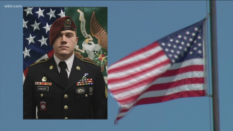 East Tennessee soldier remembered at public memorial at Gibbs High School