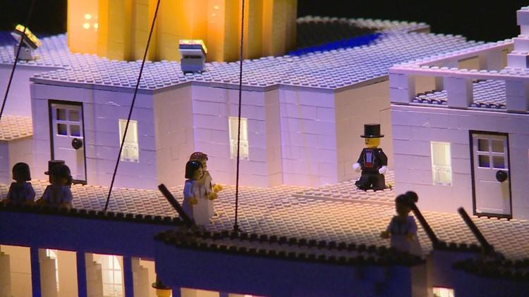 Boy with autism builds world's largest Lego Titanic