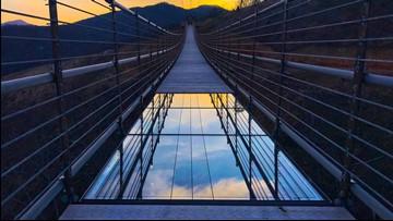 SkyBridge, the longest pedestrian bridge in the US, opens in Gatlinburg