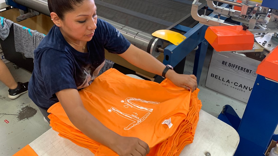 'It's an absolute movement' | More than 71,000 orders placed for boy's UT shirt design