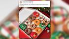 Krispy Kreme is now serving its holiday doughnuts