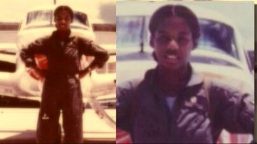 Meet Brenda Robinson: She was the Navy's first African American female pilot to earn her wings
