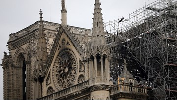 Notre Dame Cathedral fire finally extinguished