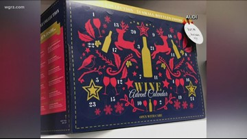 Aldi bringing back Advent wine and cheese calendars