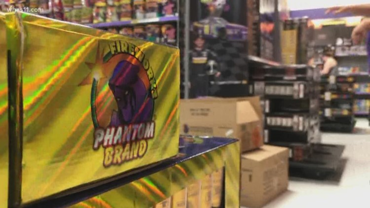 Fireworks complaints go unanswered in Louisville?