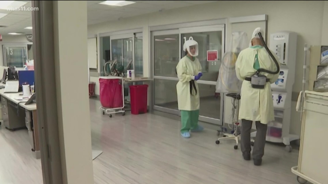 Kentucky's COVID-19 virus cases, numbers slowly dropping
