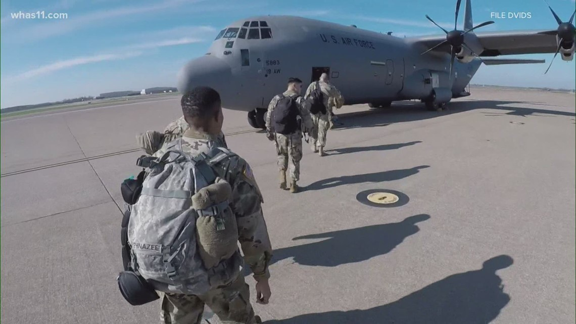 Fort Campbell soldiers head to Florida in vaccination effort