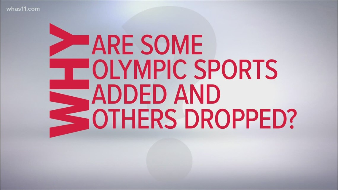 Some Olympic sports are new this year, others are out. Here's why