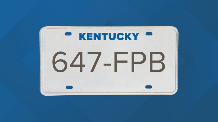 Terry whitehouse license plate