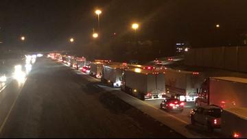 Driver of semi dead after fatal roll-over crash on I-71N