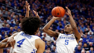 No. 12 Kentucky edges Mississippi 67-62 for 4th straight win