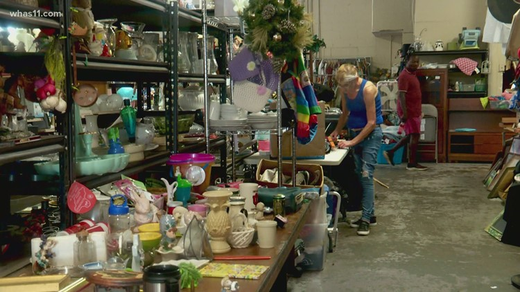 'I'm probably within two weeks of closing': Louisville Thrift Store worried about staying open during sewer project