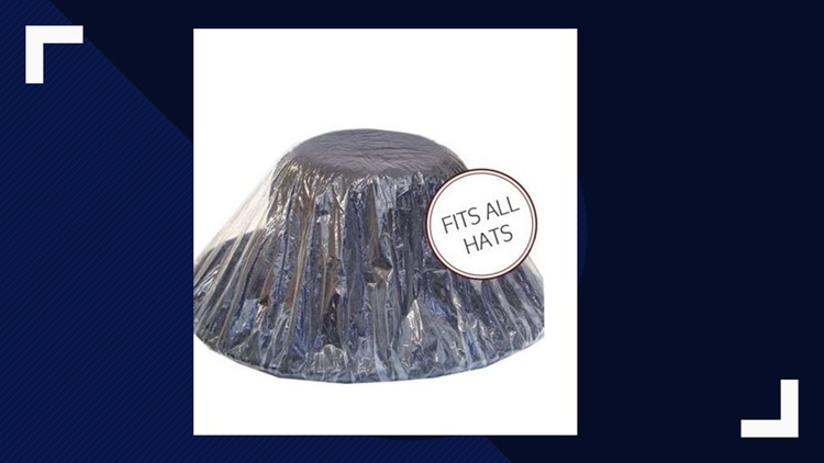 Hat covers For Kentucky Derby Rain