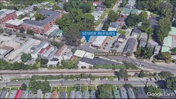 MSD to close Frankfort Ave for Sewer Repairs