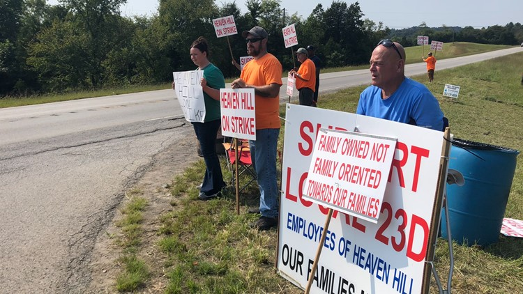 'Without us and them, who are they?': Local bar refuses to sell Heaven Hill products while workers strike