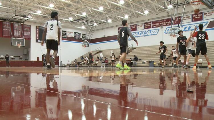 Ballard boys hoops prepares for season as JCPS schools start full winter sports practices