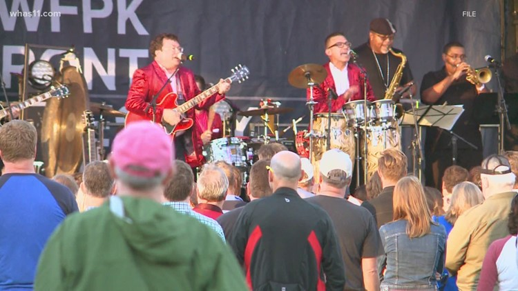 They're baack! Waterfront Wednesdays return to downtown Louisville