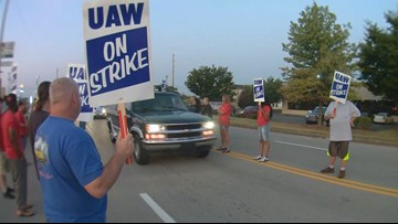 What is the impact of a GM strike?