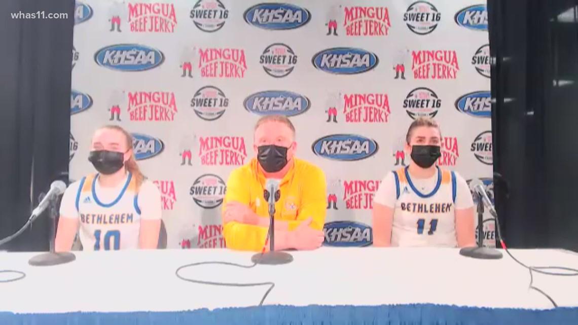 'Just a classic game': Bethlehem beats Bullitt East in Kentucky High School Sweet 16 at Rupp Arena