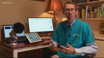 Kentucky recording service gives information to visually-impaired
