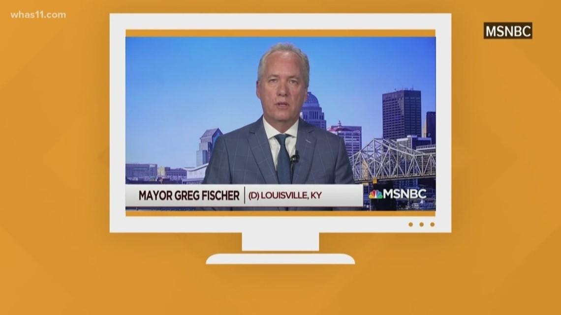 Mayor Fischer calls for Federal gun reform