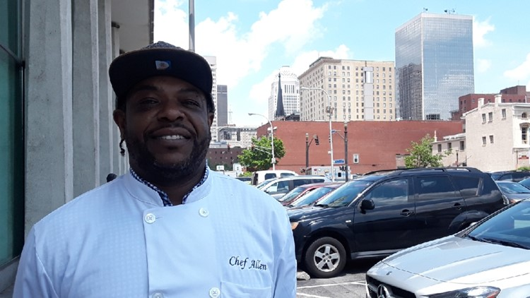 How one little lie started Chef Allen Sims' career
