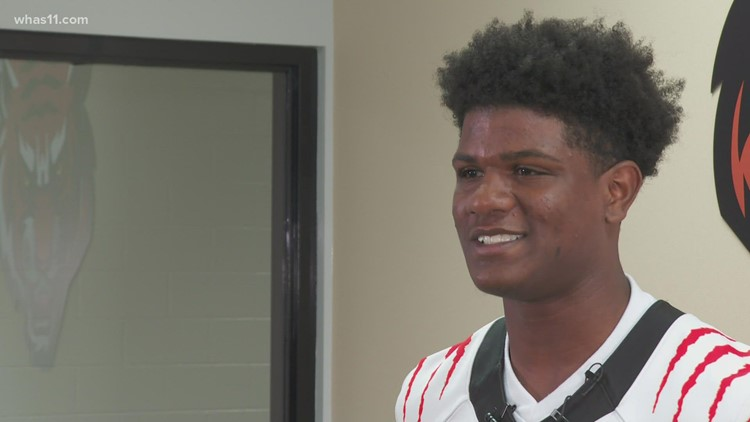 JCPS football player using second chance story to inspire others
