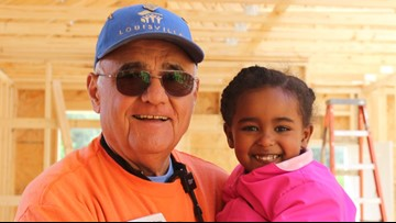 76-year-old Habitat for Humanity volunteer reflects on 21 years of helping families in need