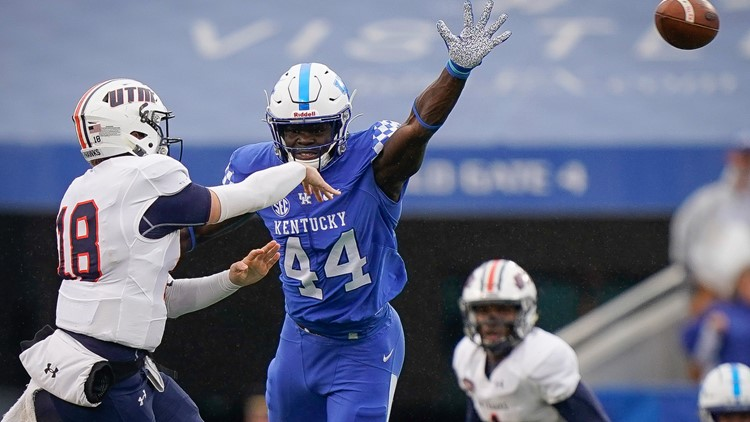 Washington fills need by drafting linebacker Jamin Davis at No. 19 from University of Kentucky