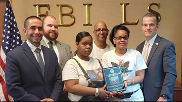 FBI Louisville honors 7-year-old stray bullet victim 2 years after his death