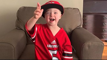 4-year-old to lead Louisville marching band during halftime of Clemson game