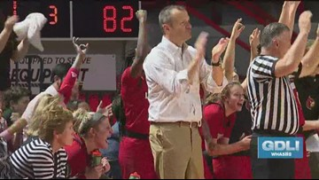 UofL Coach Jeff Walz talks NCAA Tournament