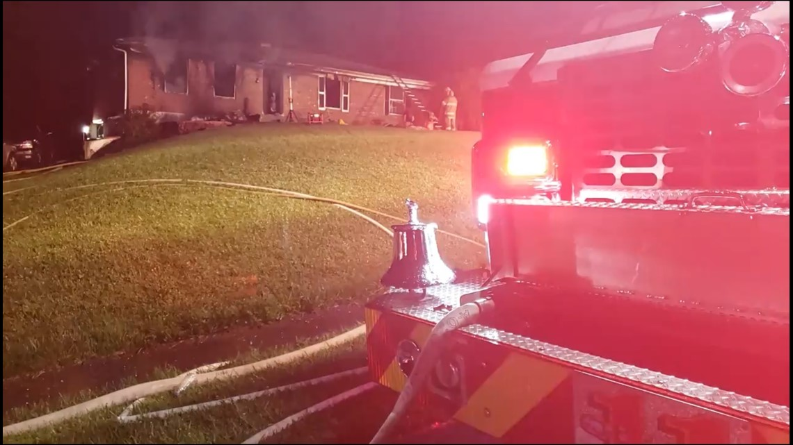 Teen charged after intentionally setting parents' home on fire, killing father