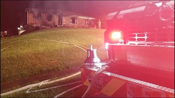 2 hospitalized following Floyd County fire