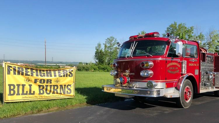 Jeffersonville Fire union truck