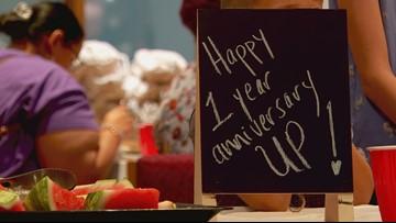 UP celebrates one year serving women & children