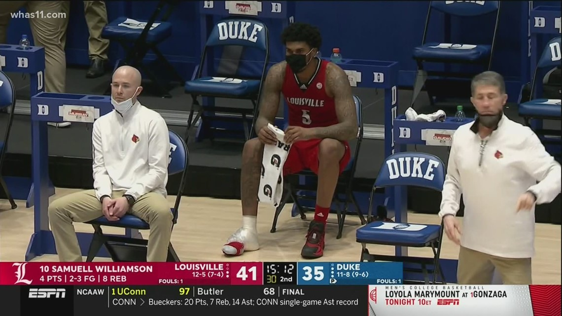 Louisville's Malik Williams likely out for rest of season