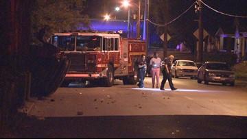 1 dead, 1 injured in shooting, rollover crash in west Louisville