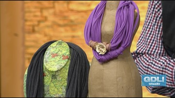 Upcycle your t-shirts into wearable art