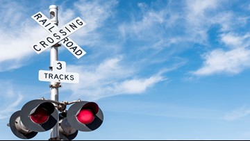 Railroad crossing at Valley Station Road closed beginning Monday for repairs