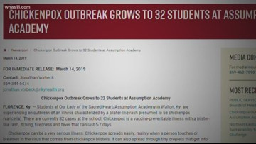 Student suing over anti-vaccination rights