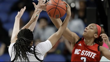 No. 3 Louisville beats No. 9 NC State 78-68 in ACC semis