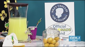 Kids use lemonade stands to raise money for Crusade