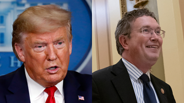 Trump: Throw Rep. Thomas Massie out of Republican Party