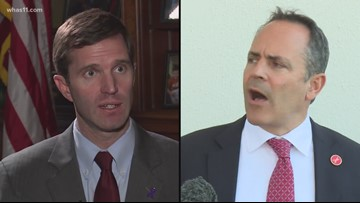 Beshear and Bevin tied in latest poll