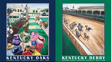 Churchill Downs unveils 2020 Derby, Oaks posters