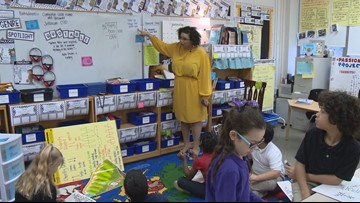 4th grade Hazelwood Elementary teacher receives ExCEL Award